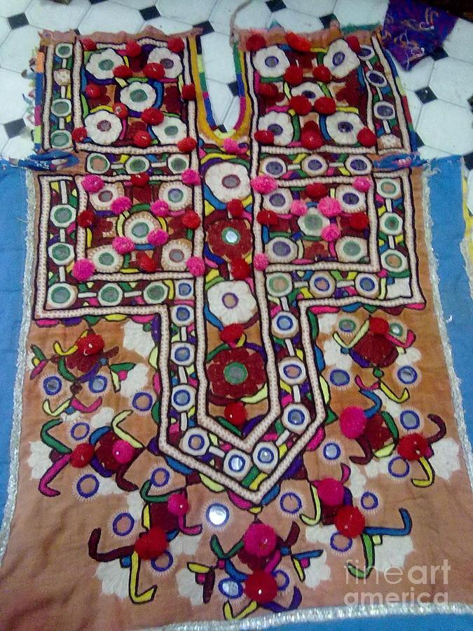 Dresses Tapestry - Textile - Old Dress by Dinesh Rathi