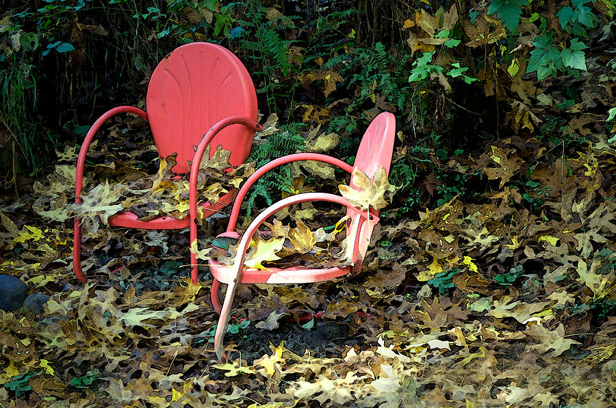 Old Empty Chairs by Gwyn Newcombe