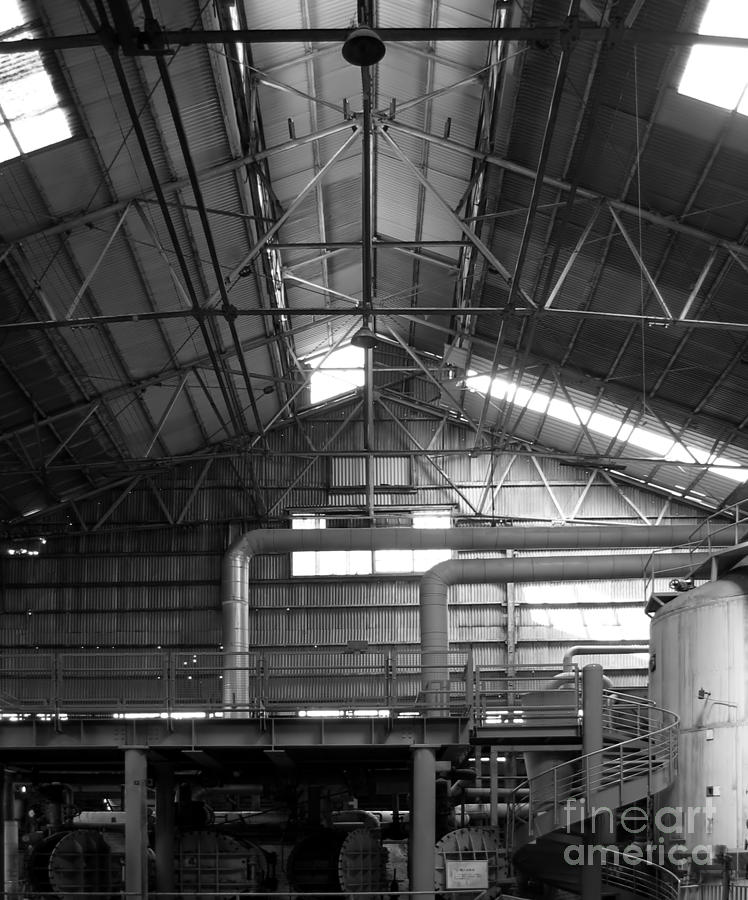 Factory Photograph - Old Factory by Yali Shi