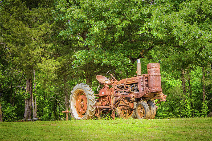 Tractor Photograph - Old Faithful by Barry Jones