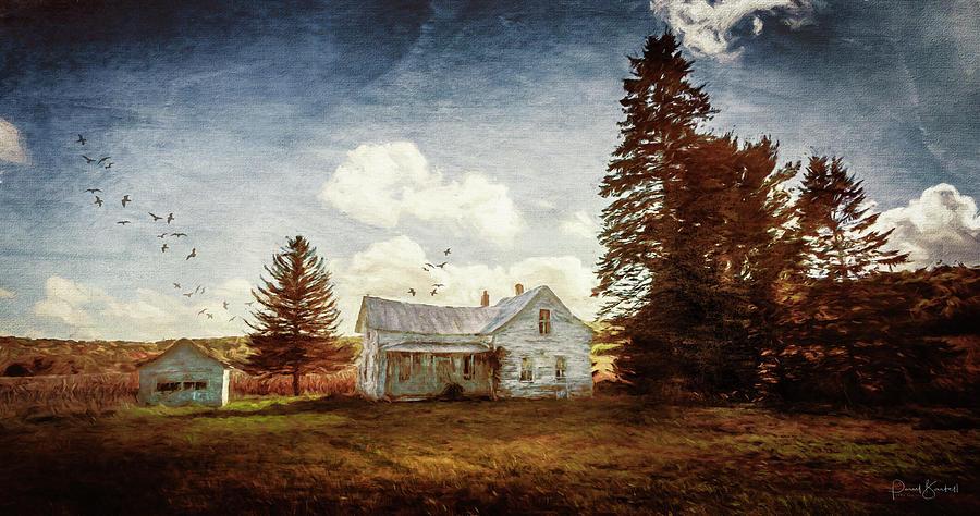 Old Farm House by Paul Bartell