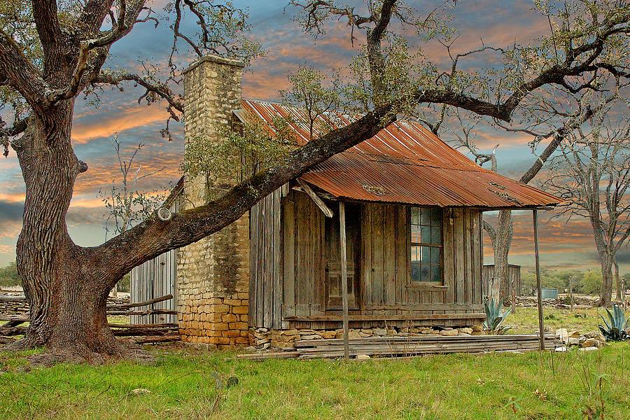 Farm House Photograph - Old Farm House by Robert Anschutz