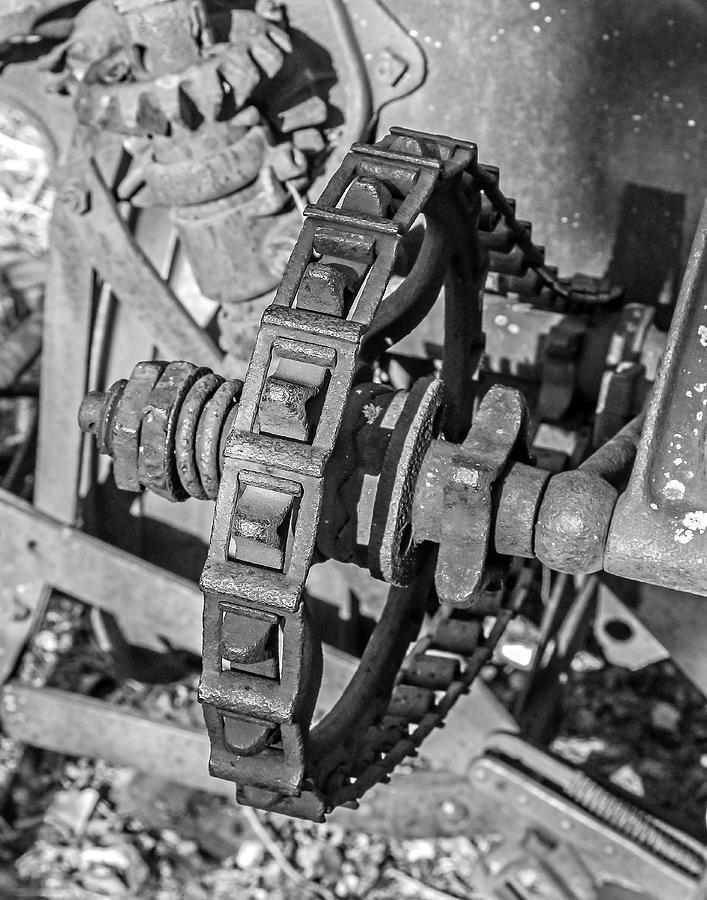 Farm Photograph - Old Farm Machinery #1 by Allen Sheffield