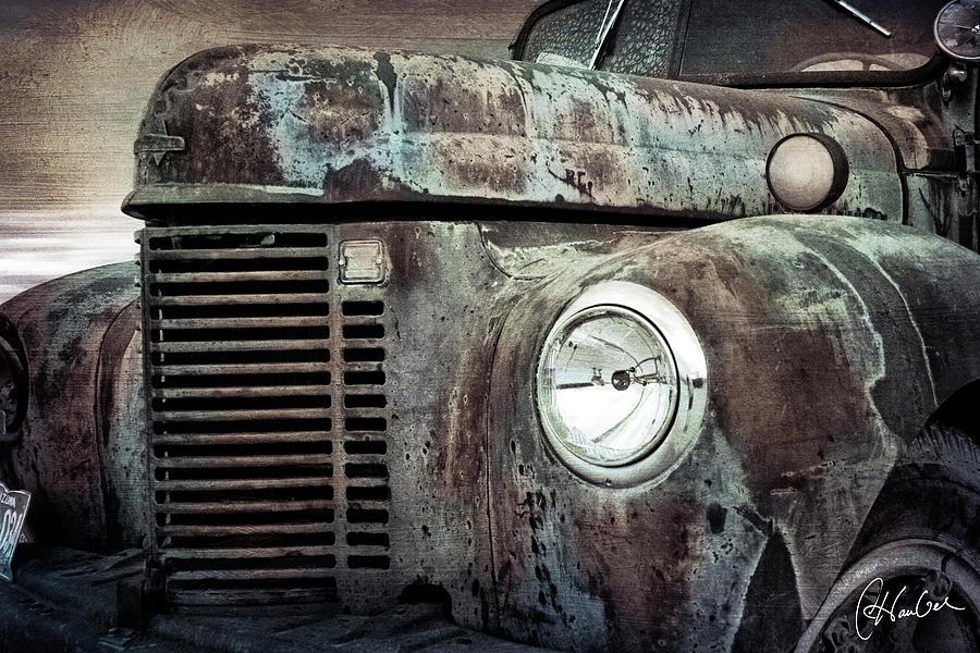 Truck Photograph - Old Farm Truck IIi by Christine Hauber