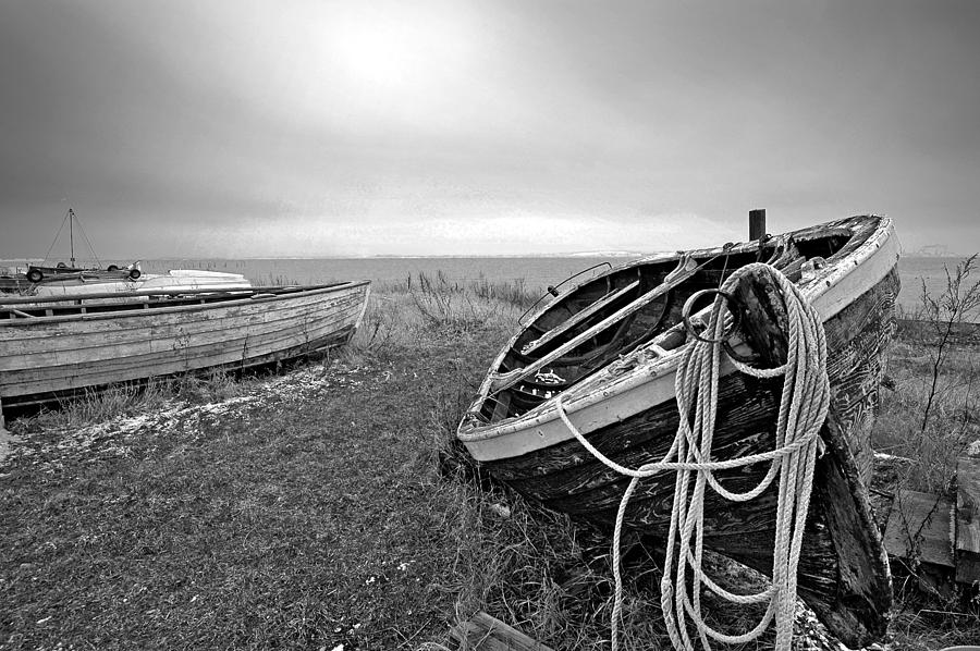 Fishing Boat Photograph - Old Fishing Boat by Robert Lacy