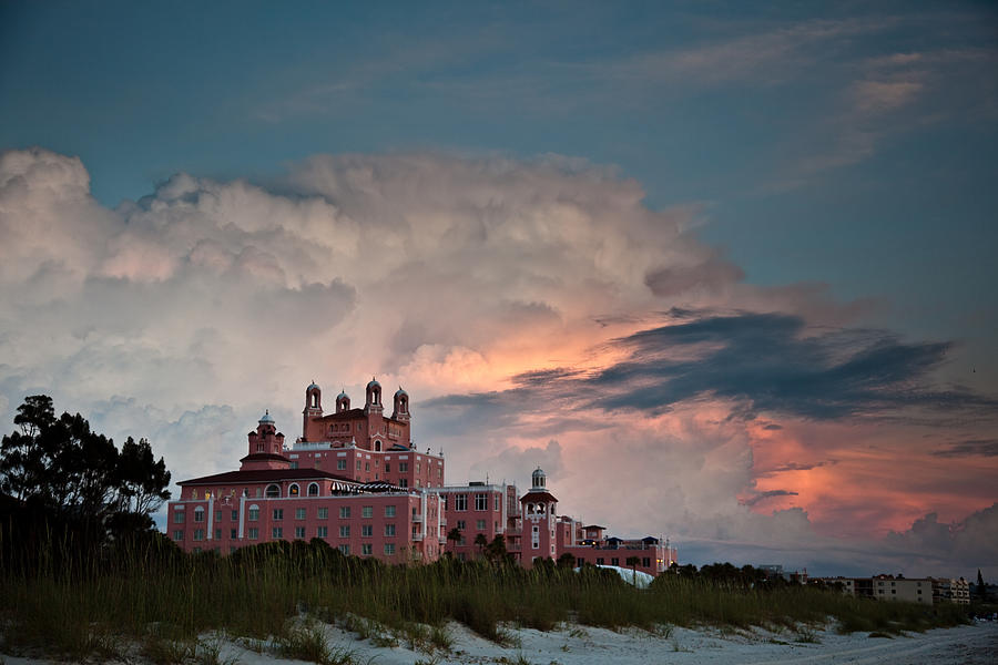 Don Cesar Photograph - Old Florida Hotel by Patrick  Flynn