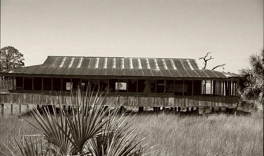 Old Florida Photograph - Old Florida Sepia by Michael Morrison
