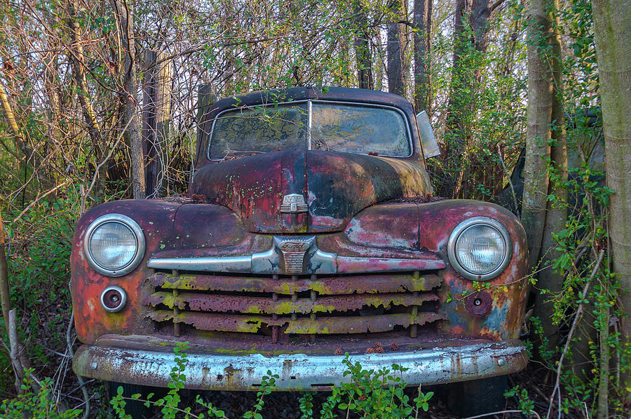 Old Ford Pickup Truck Photograph by Carl R Schneider