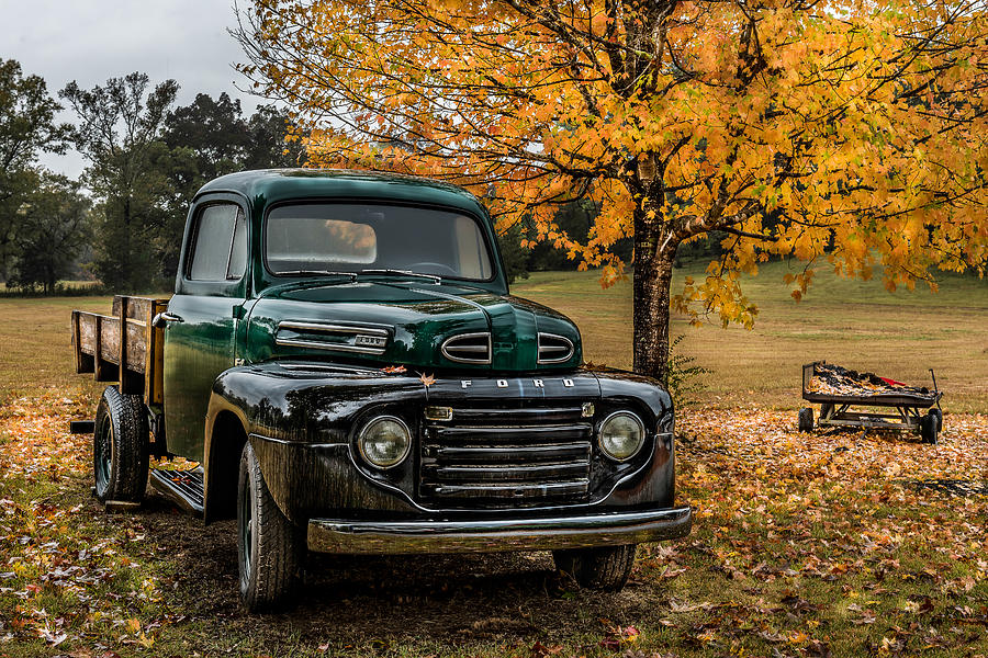 Old Ford by Randy Walton