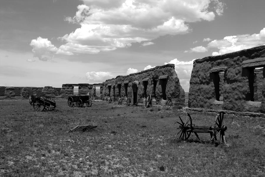 National Monument Photograph - Old Fort Union by David Lee Thompson