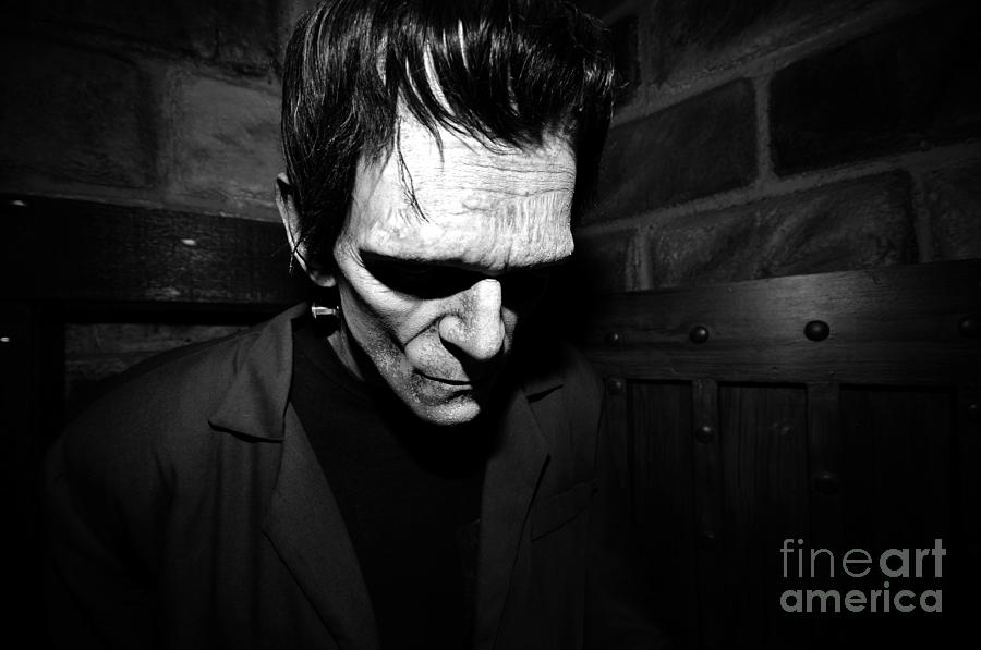 Dr. Frankenstein's Monster Photograph - Old Frankie by David Lee Thompson