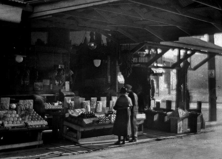 Fruit Stand Photograph - Old French Market by Crescent City Collective