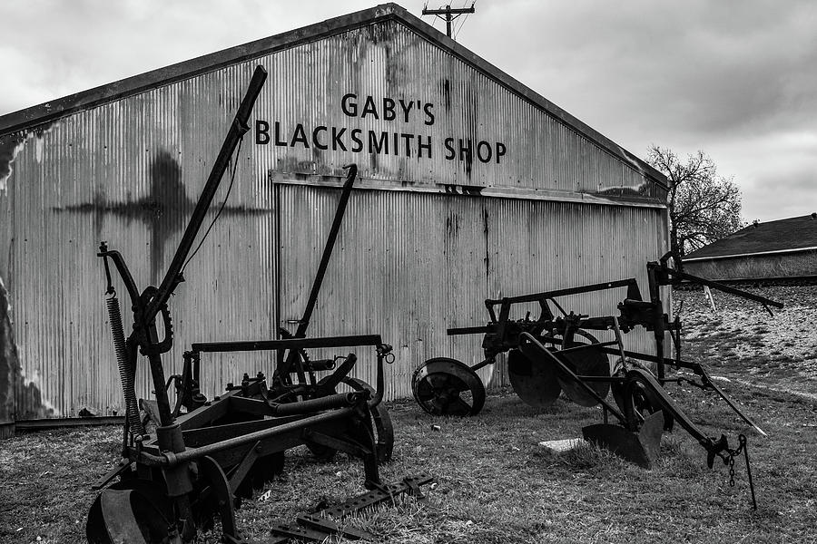 Old Frisco Blacksmith Shop by Nicole Lloyd