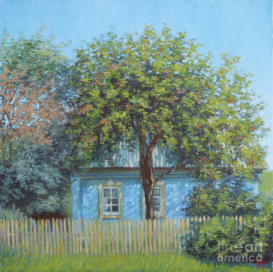 Tree Painting - Old Garden by Tatiana Gracheva