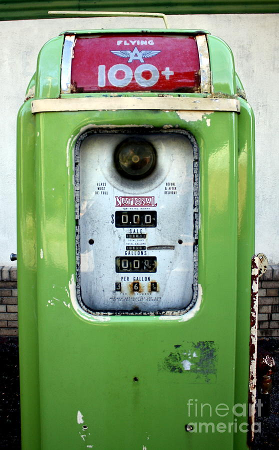 Gas Pump Photograph - Old Gas Pump II by DazzleMePhotography