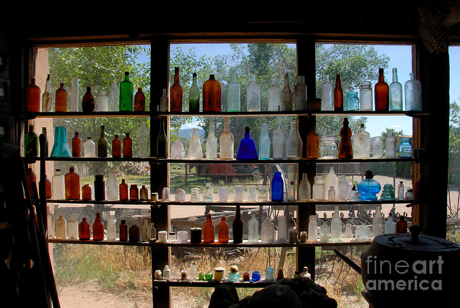 Glass Photograph - Old Glass by David Lee Thompson