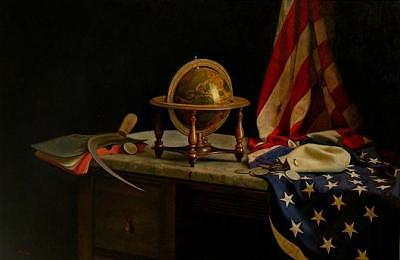 Patriotic Painting - Old Glory by Keith Murray