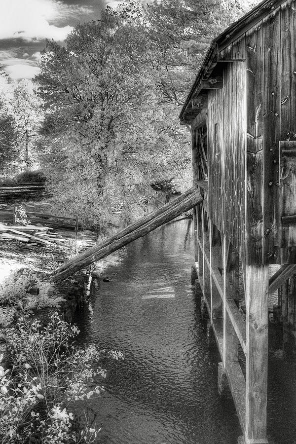 Old Mill Photograph - Old Grist Mill by Joann Vitali