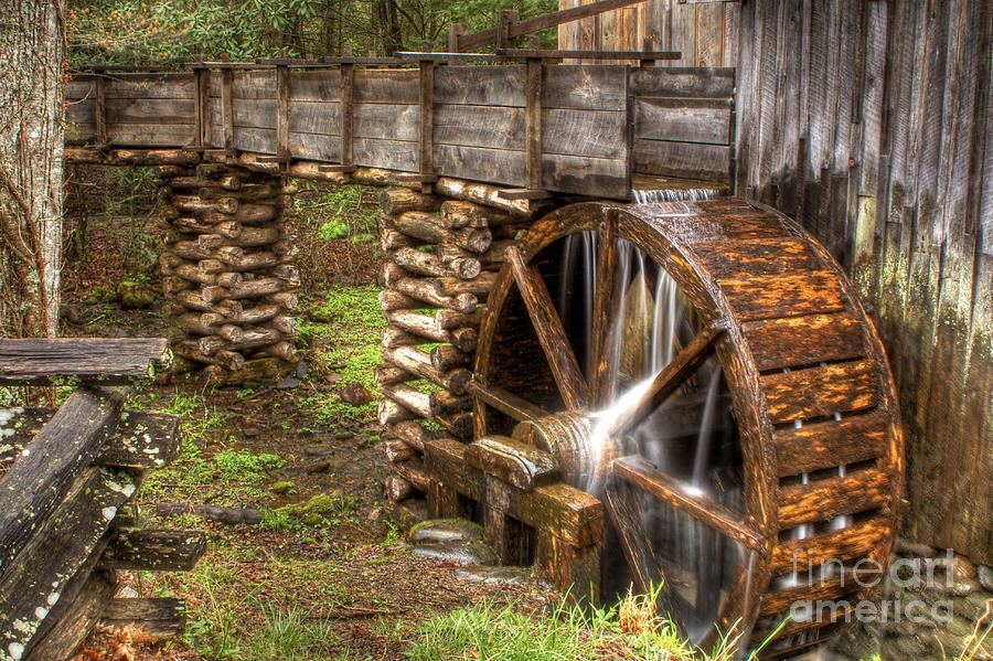Old Grist MIll by Photography by Laura Lee