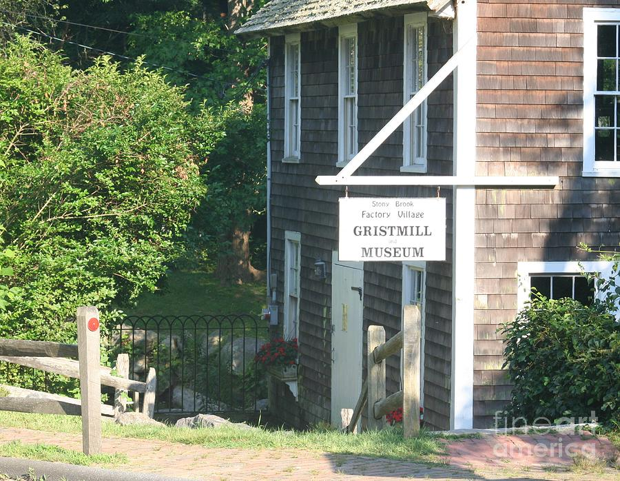 Historic Buildings Photograph - Old Gristmill by Amy Holmes