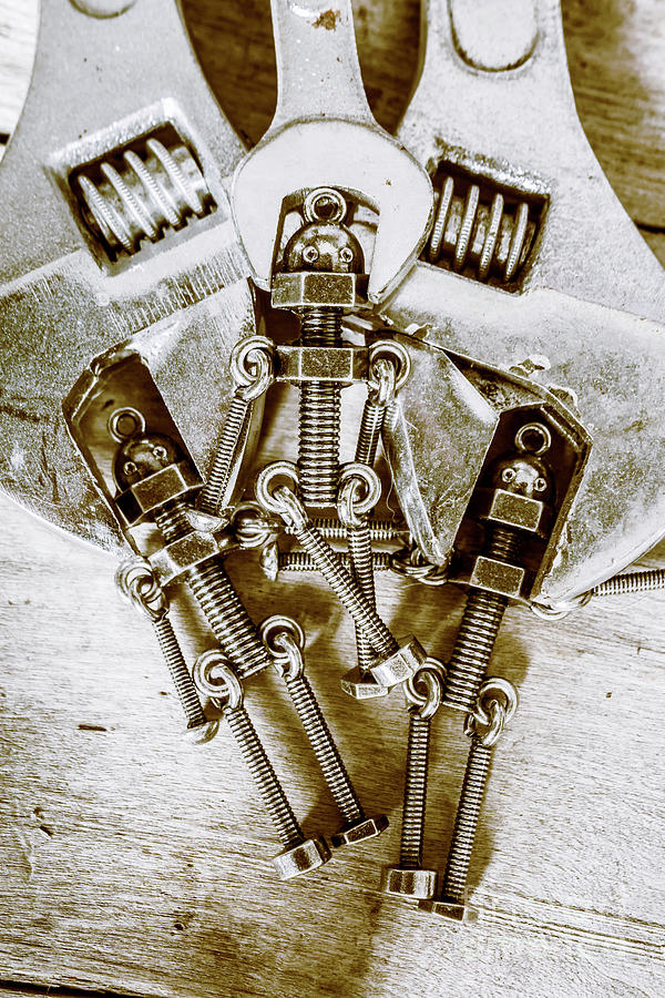 Robotic Photograph - Old Hardware Upgrade by Jorgo Photography - Wall Art Gallery