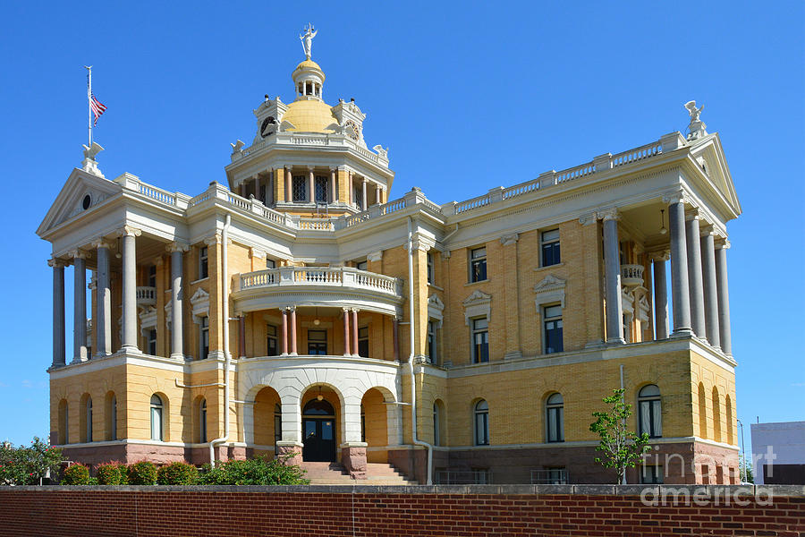 Old Harrison County Courthouse Photograph