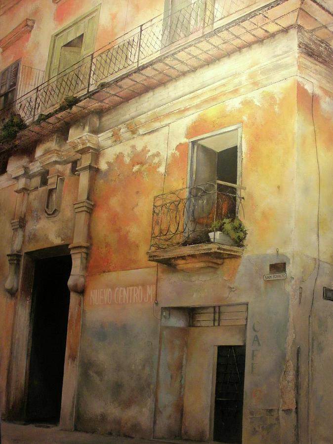 Havana Cuba Painting - Old Havana by Tomas Castano