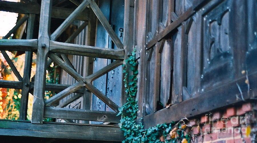 Fall Photograph - Old Home Iv by Simonne Mina