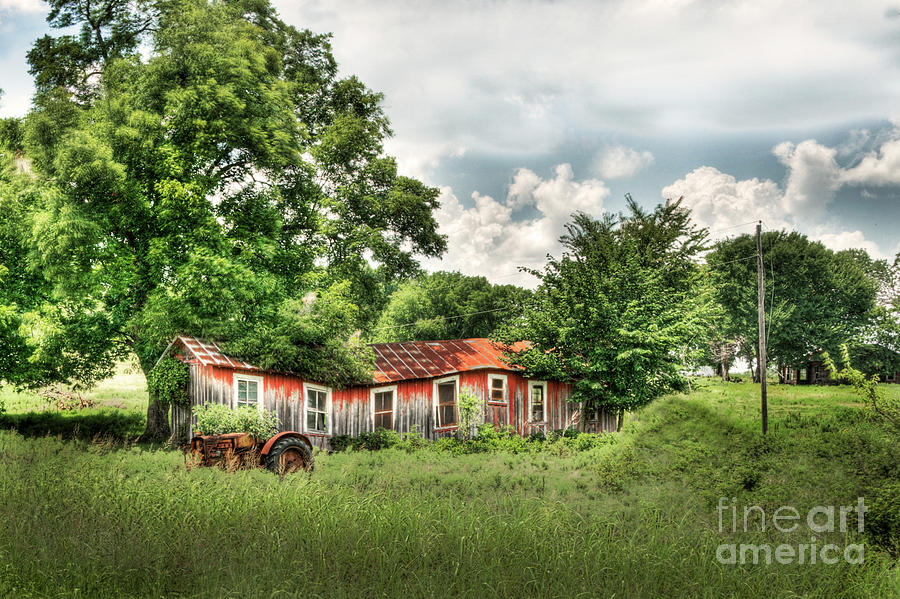 Homestead Photograph - Old Homestead by Tamyra Ayles