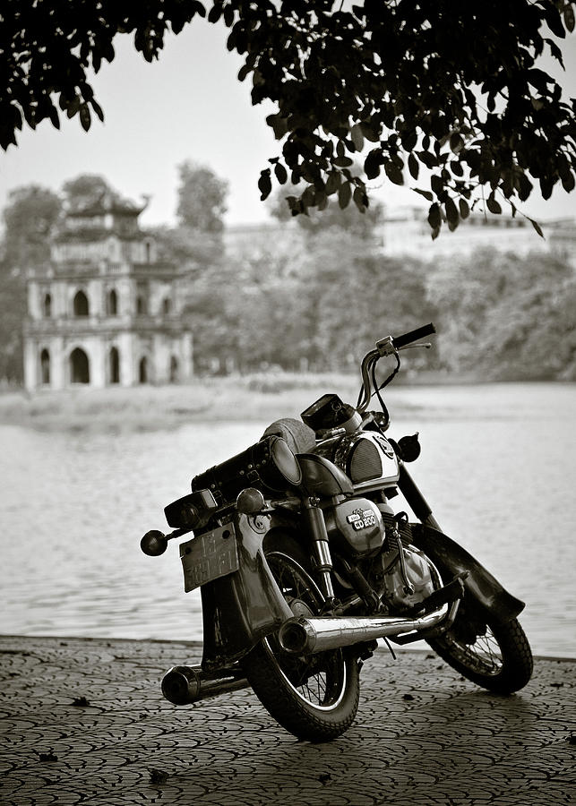 Old Honda In Hanoi Photograph