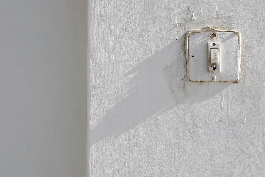 Minimal Photograph - Old House Bell by Prakash Ghai