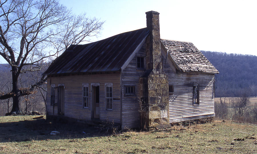 Old House Photograph by Curtis J Neeley Jr