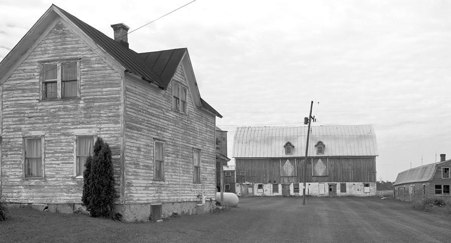 Old House With Barn On Clarks Lake Road Photograph by Stephen Mack