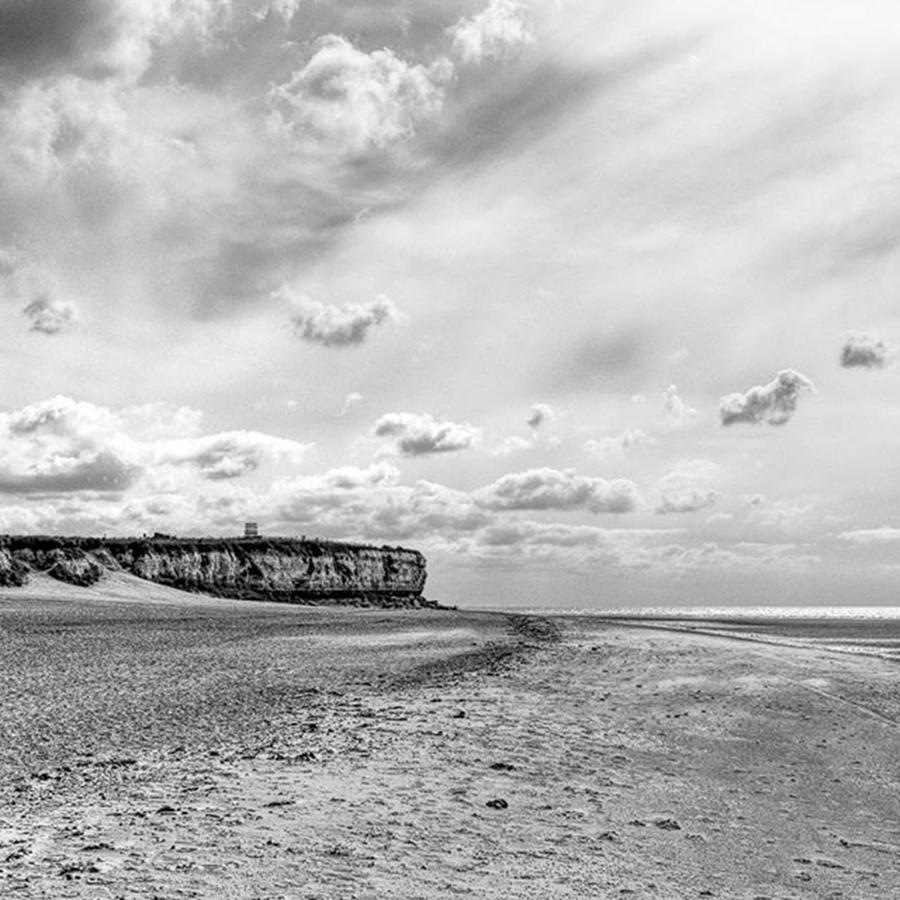 Sea Photograph - Old Hunstanton Beach, Norfolk by John Edwards