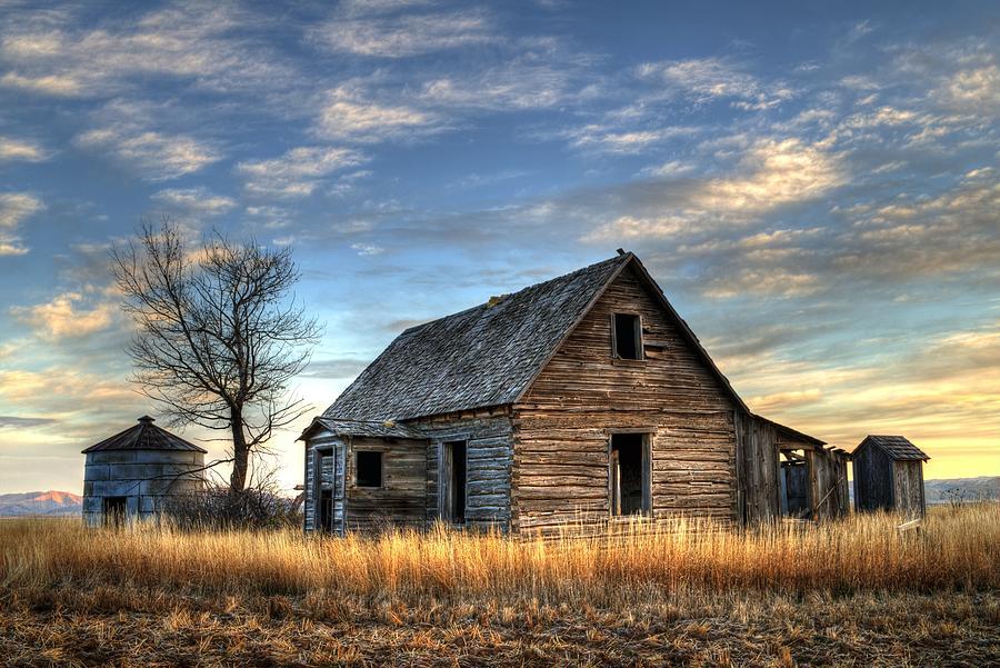 Old Idaho Farm House by Michael Morse