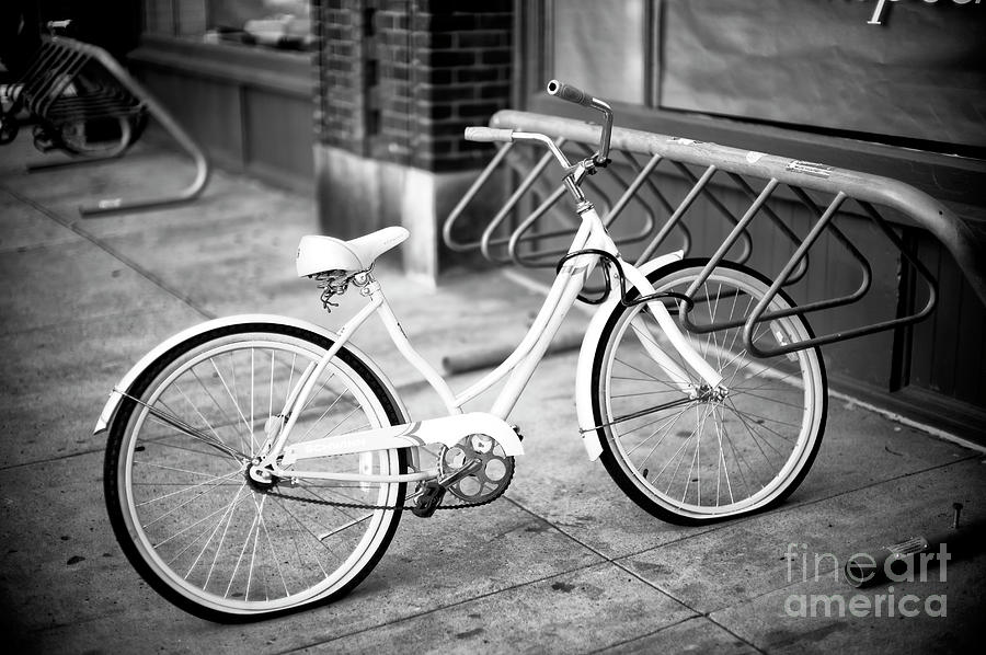 Bike Photograph - Old Is New In Savannah by John Rizzuto