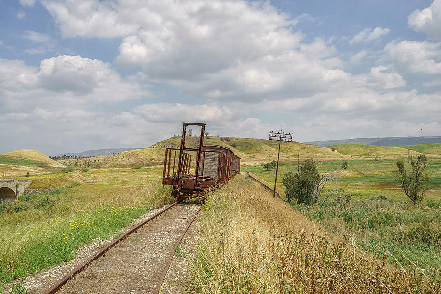 Jezre'el Valley Old Railway Station by Uri Baruch