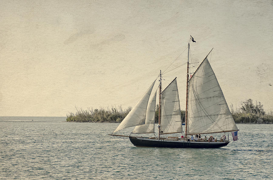 Old Key West Sailing by Jim Shackett