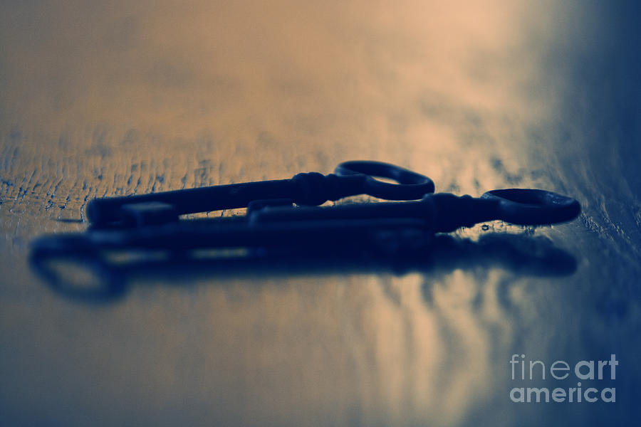 Keys Photograph - Old Keys by Dan Radi