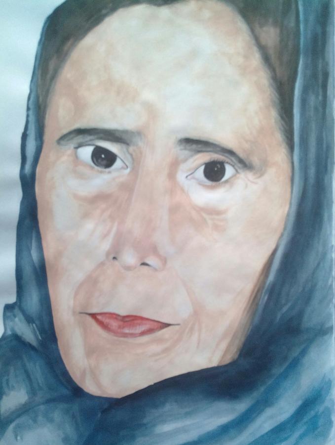 Old Lady Painting By Durgeshwari Durgeshwari