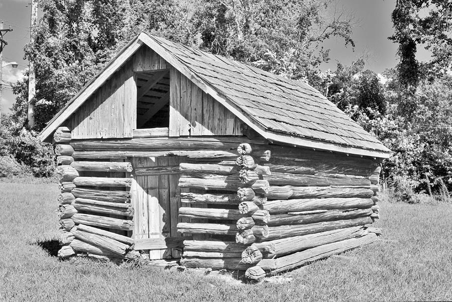 Old Log Cabin Schoolhouse Photograph By Kim Bemis