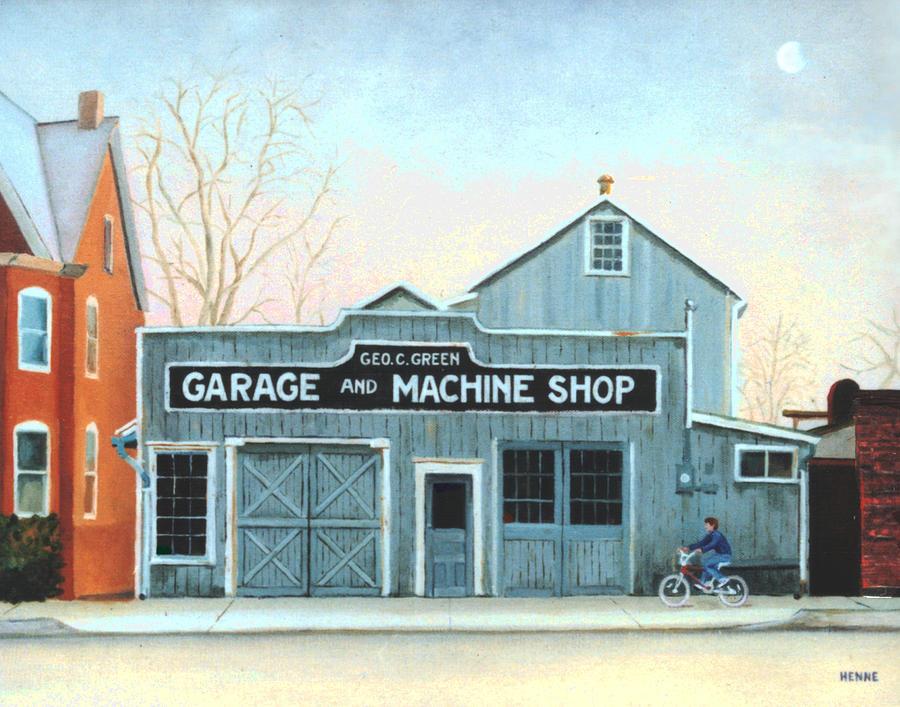 Old Machine Shop by Robert Henne