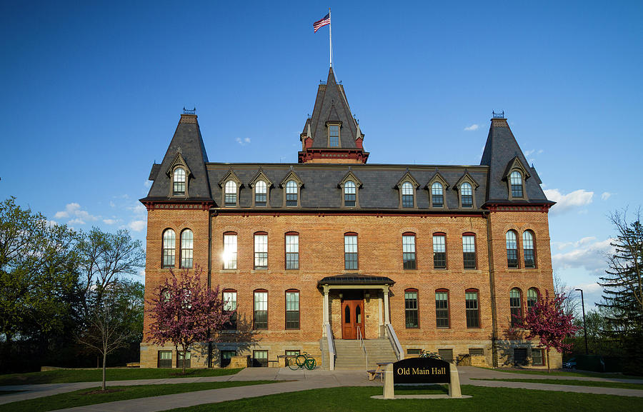Old Main Spring Evening Photograph