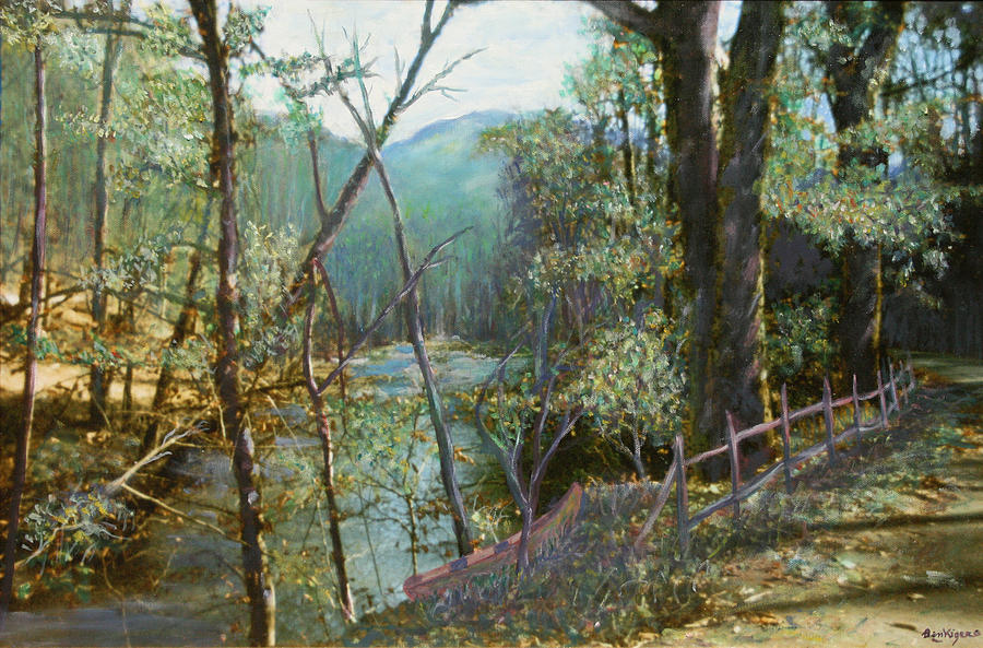 Old Man River Painting by Ben Kiger