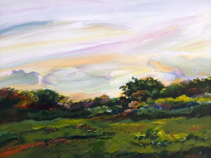 Old masters field painting by richard knox