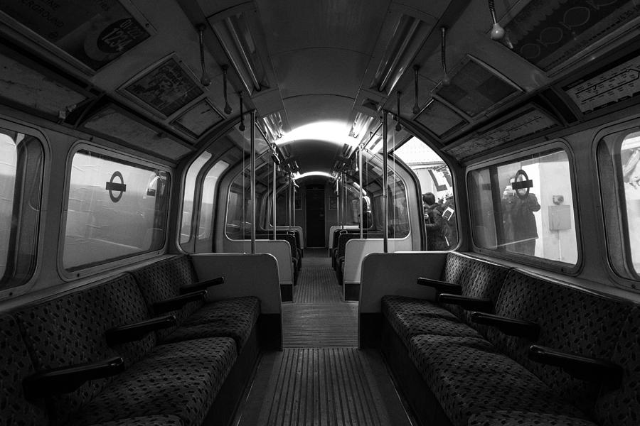 Old Metro Train Interior Photograph by James Palmer