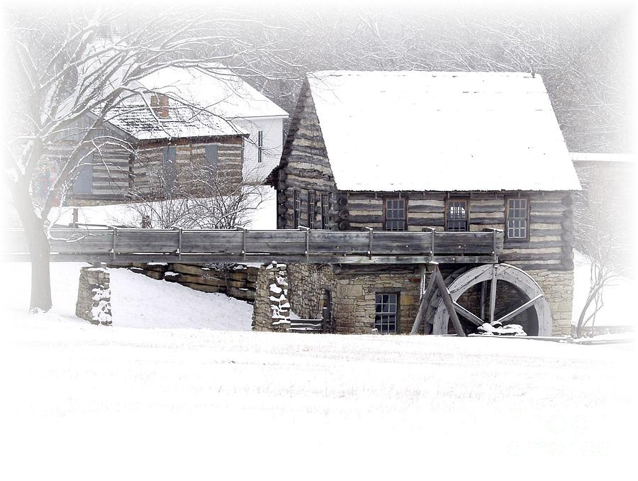 Mill Photograph - Old Mill  by Carol Sweetwood
