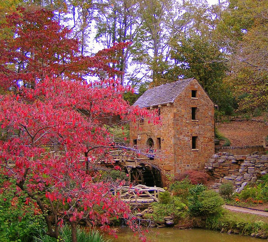 Mill Photograph - Old Mill In The Fall by Jimmy Poor
