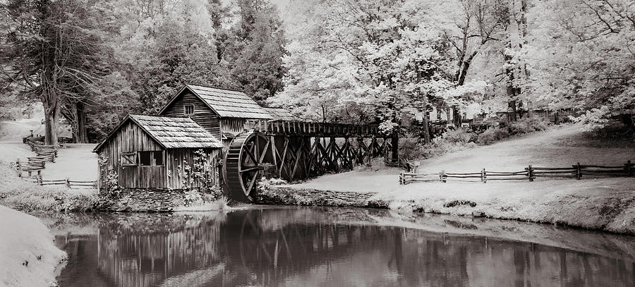 Old Mill On The Mountain by James Woody