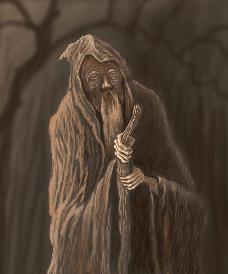 Monk Fantasy Art